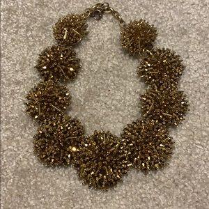 JCrew Gold Statememt Necklace